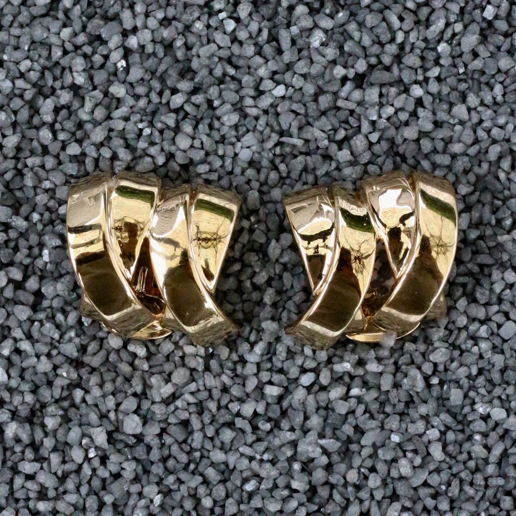 Jewelry VCExclusives: Criss Cross Double Gold