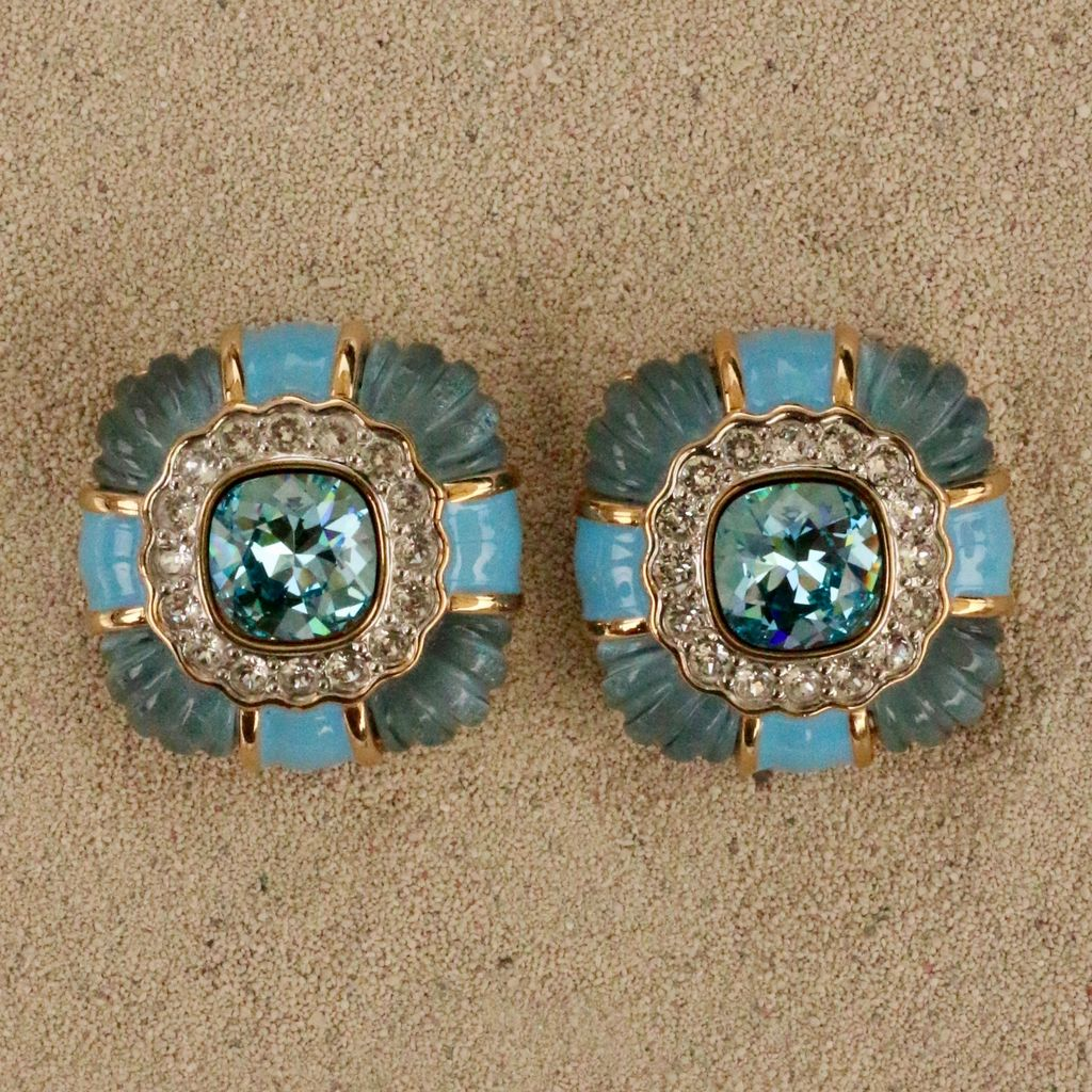 Jewelry VCExclusives: Agnes Aquamarine Blue