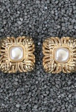 Jewelry VCExclusives: Margot Gold with Pearl PIERCED