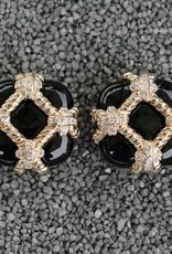 Jewelry VCExclusives: Zinnia Black & Gold