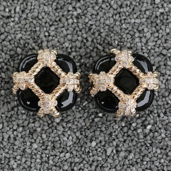 Jewelry VCExclusives: Zinnia Black & Gold