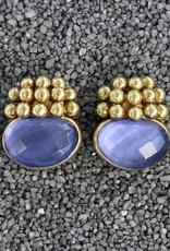 Jewelry Vaubel: Little Gold Balls with Amethyst