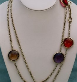 jewelry Vaubel: Semi Precious Discs on Chain