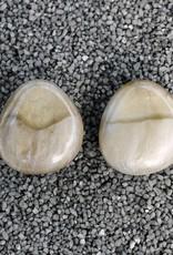Jewelry Denaive: Zoe Varigated Cream Button Clip