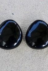 Jewelry Denaive: Zoe Black Button Clip