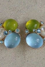 jewelry VCExclusives: Three Large Stones w/ Blue Green and Pearl