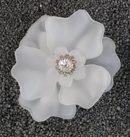 Jewelry VCExclusives: Lucite White With Pearl Center