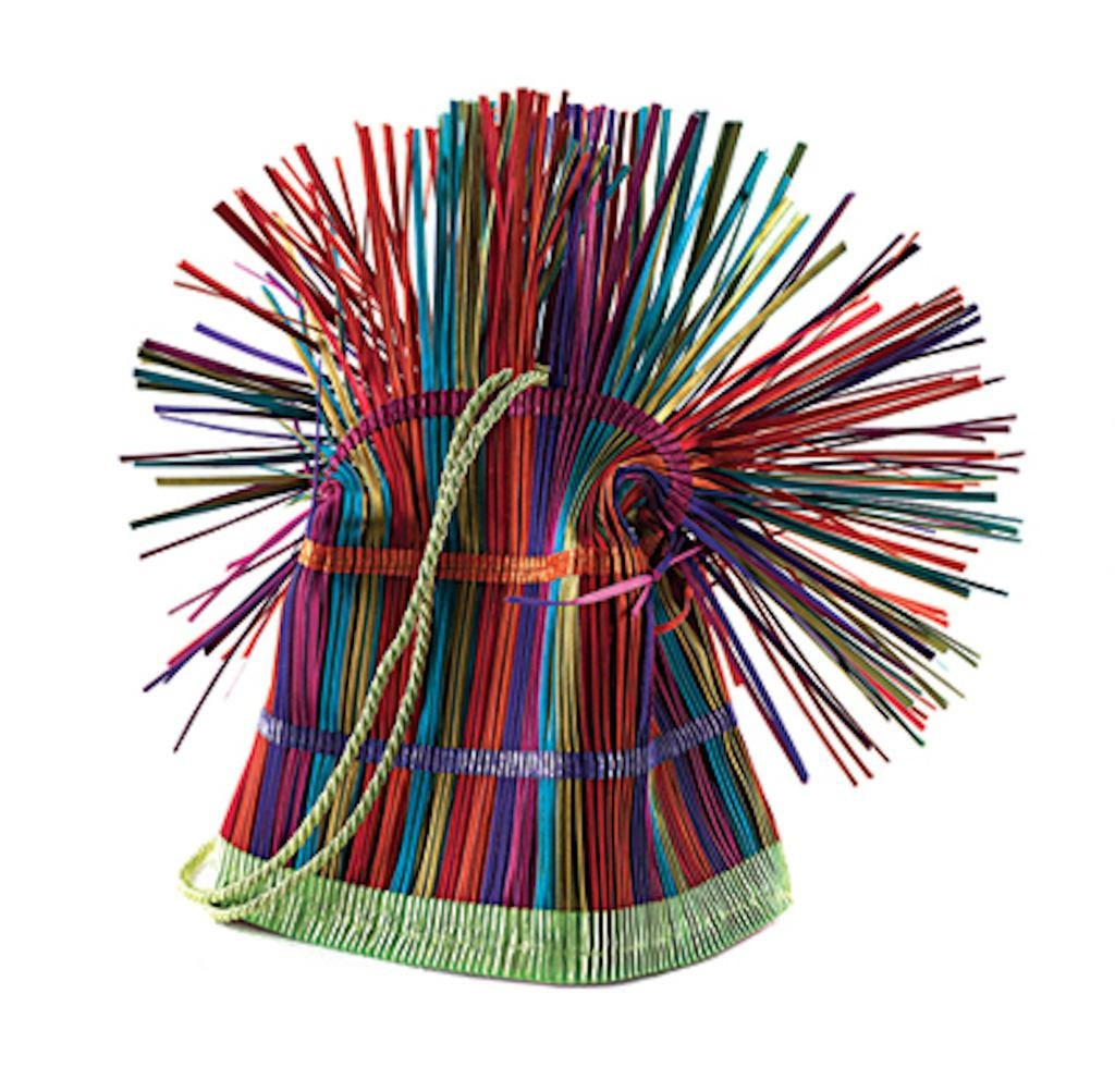 Accessories VCExclusives: It Is Multi Color Straw Bag