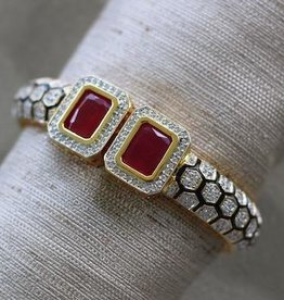 Jewelry VCExclusives: India Red with CZs