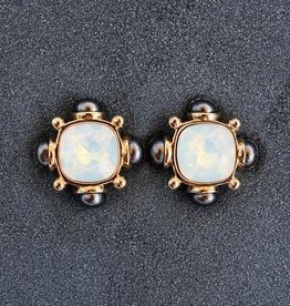 Jewelry VCExclusives: Annie Moonstone Onyx Pierced