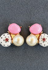 jewelry VCExclusives: Jen Pink Pearl Dots