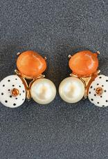 jewelry VCExclusives: Jen Orange Pearl Dots