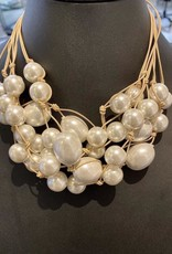 Jewelry VCExclusives: Jill Pearl with Tan Cord