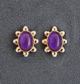 Jewelry VCExclusives: Diane Purple Pierced
