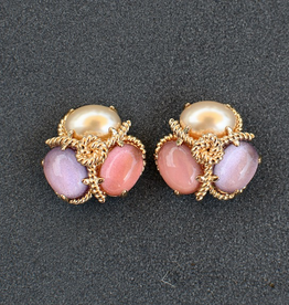 jewelry VCExclusives: Robin Pearl Pink Lavender Pierced