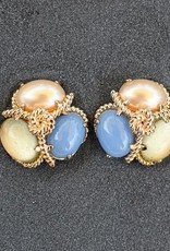 jewelry VCExclusives: Robin Pearl Lemon Blue Clip
