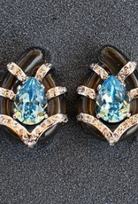 Jewelry VCExclusives: Sandra Aqua and Gold with CZ