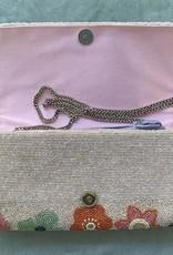 Handbags VCExlusives: Beaded Clutch / Metalic