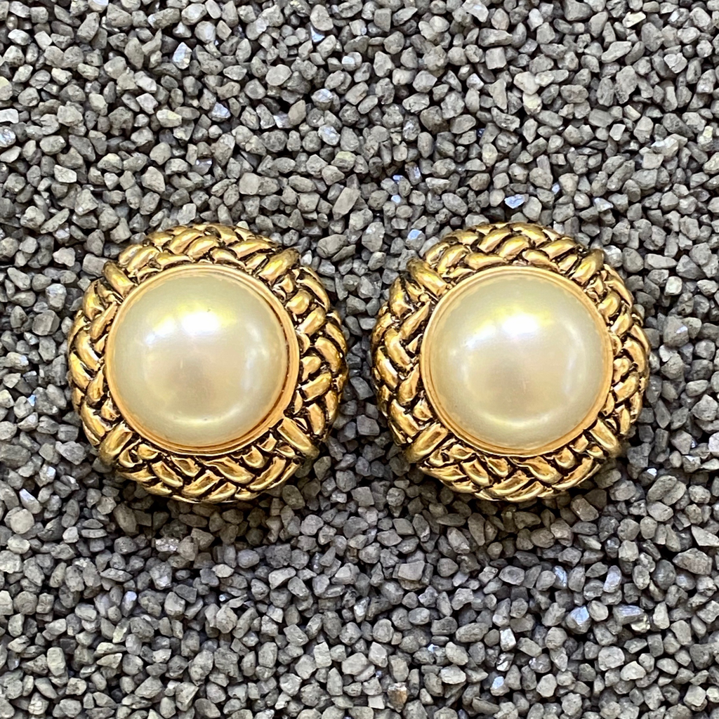 Jewelry VCExclusives: Pearls in Gold Weaves