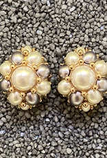 Jewelry VCExclusives: Starburts in Pearl w/Silver Details