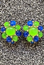 Jewelry VCExclusives: Starburst in Green w/Blue Details