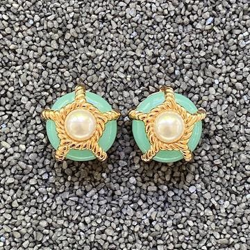 Jewelry VCExclusives: Pearl & Gold Rope Pops in Turquoise