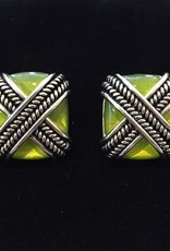Jewelry VCExclusives: Rope Cross in Lime