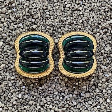 Jewelry VCExclusives: Emerald Green & Gold Ribs