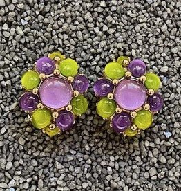 Jewelry VCExclusives: Starburst in Violet w/Green Details