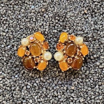 Jewelry VCExclusives: Clusters w/Pearl Accent / Amber & Yellow