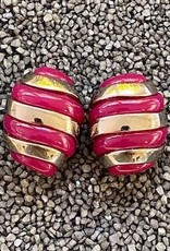 Jewelry VCExclusives: Banded Egg / Pink and Gold