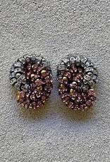 Jewelry FMontague: Baghera w/Garnet & Diamond
