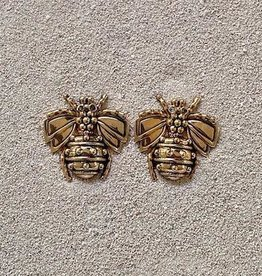 Jewelry VCExclusives: Gold Honeybee Pierced