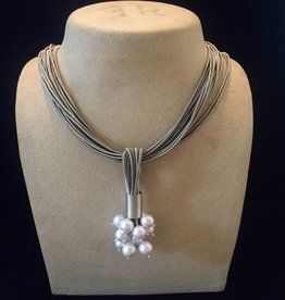 Jewelry VCExclusives: Pearl Clusters on SilverStrands