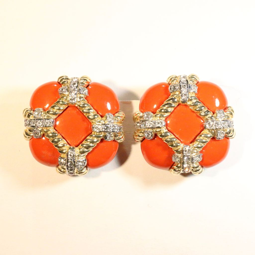 Jewelry VCExclusives: Zinnia Coral & Crystal