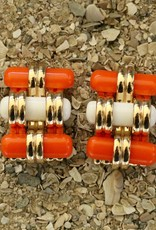 Jewelry VCExclusives: Treads Coral & Ivory
