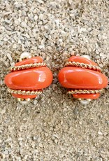 Jewelry VCExclusives: Shell Coral w/Gold Rope & Pearl Points