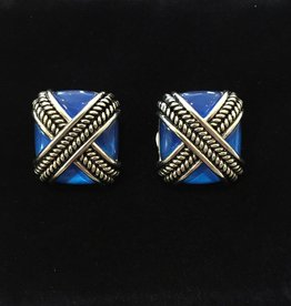 Jewelry VCExclusives: Rope Cross in Cobalt