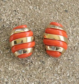 Jewelry VCExclusives: Banded Egg / Coral and Gold
