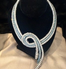 Jewelry FMontague: Diamond & Azure Mayfair Twirl