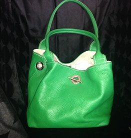 Handbags Valentina: Lime Handbag