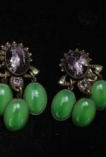 Jewelry Blinn: Lavender & Green Chandaliers
