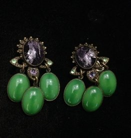 Jewelry Blinn: Lavender & Green Chandaliers
