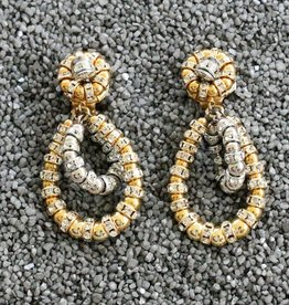 Jewelry FMontague: Lolita Gold Loops w/Silver Accents