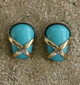 Jewelry VCExclusives: Gold X & Rope Turquoise