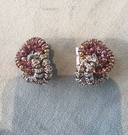 Jewelry FMontague: Baghera w/Garnet & Diamond