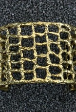 Jewelry KSultan: Gold Cuff With Webbing