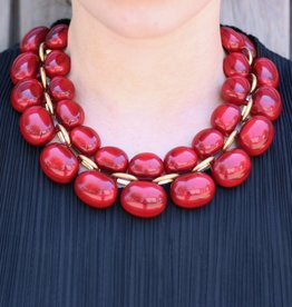 Jewelry Denaive: Andrea Rouge Lucent Resin