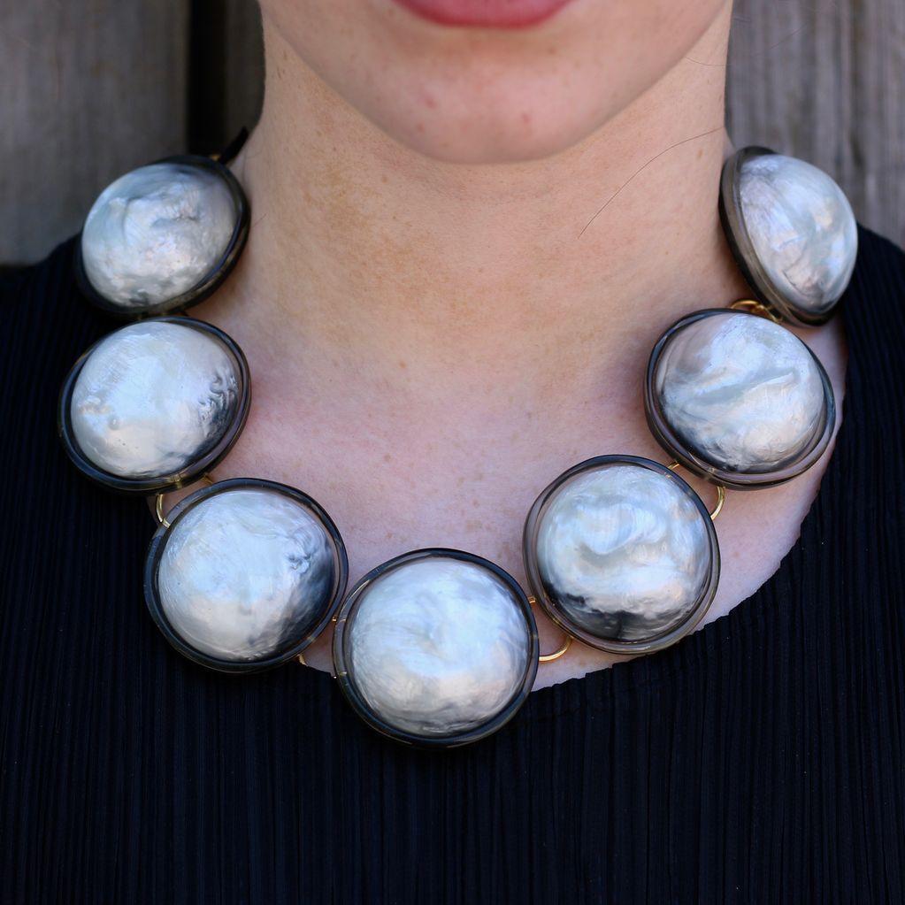 Jewelry Denaive: Sally Gray Lucent w/Black