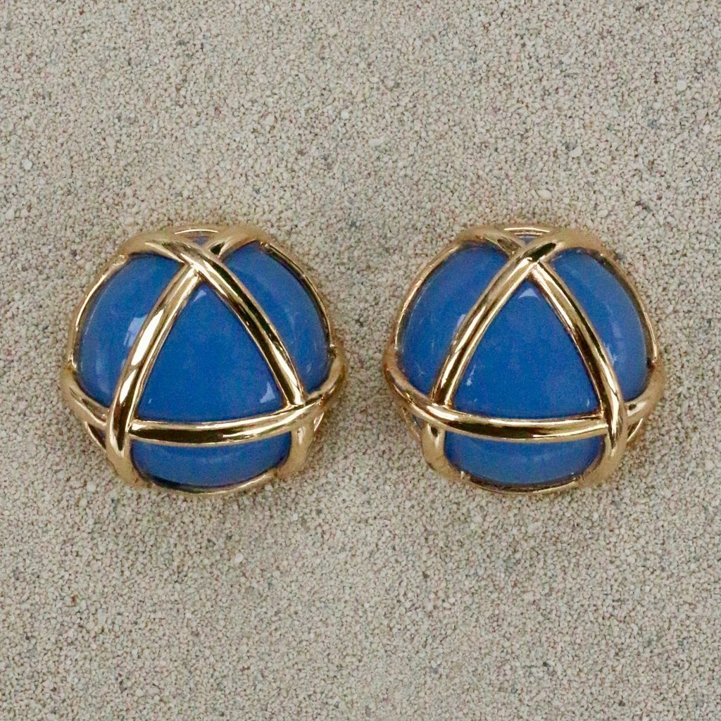Jewelry VCExclusives: Gold Triangle / Light Blue
